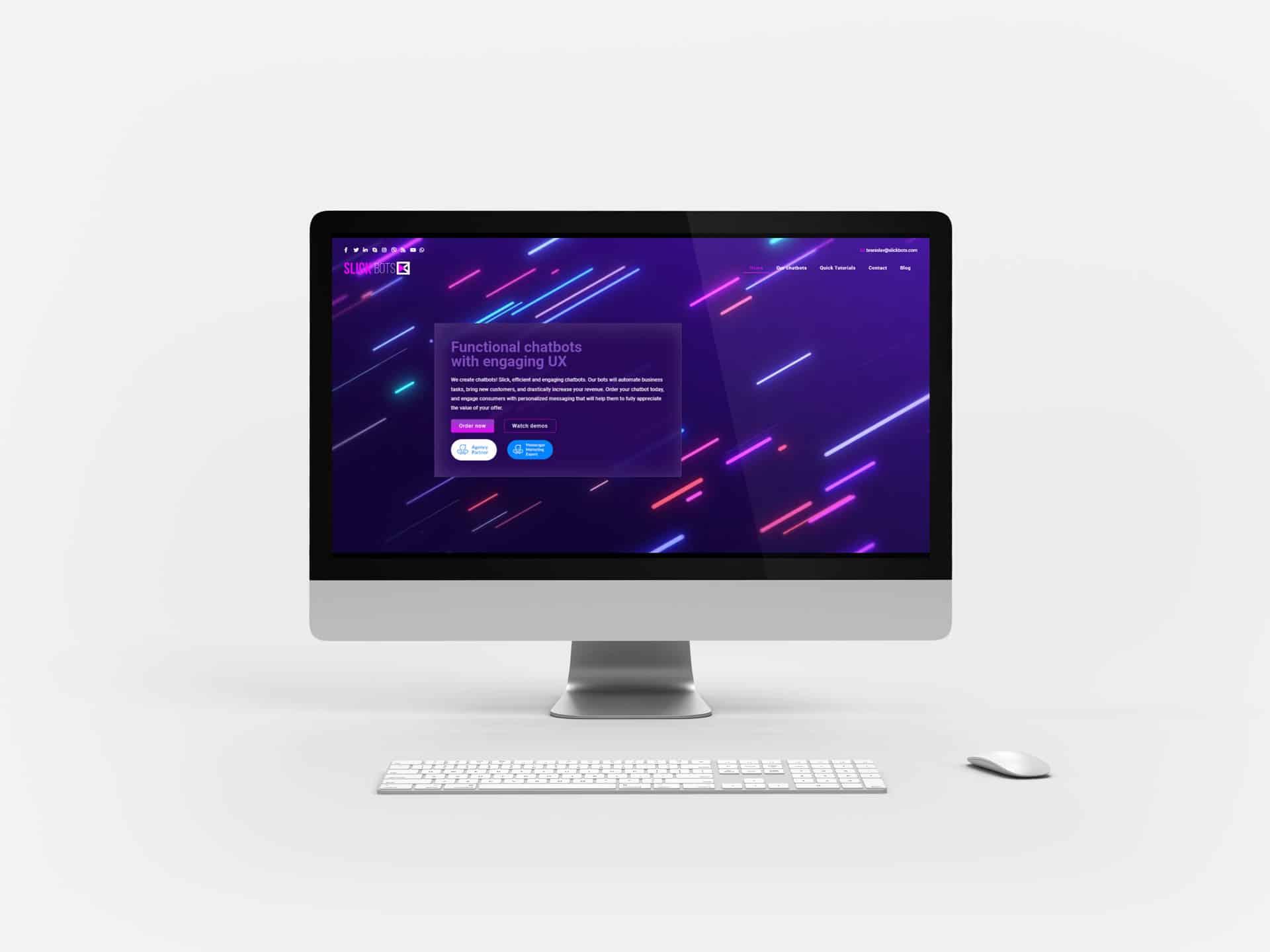 SlickBot: iMac